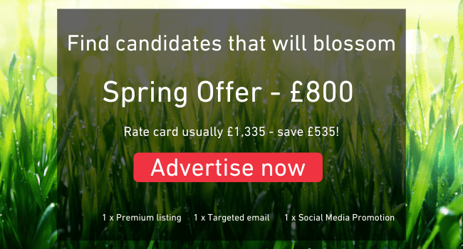 Hire candidates that will blossom with our Spring Offer